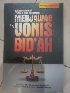 Jual Buku Menjawab Vonis Bid'ah | Toko Buku Aswaja Surabaya