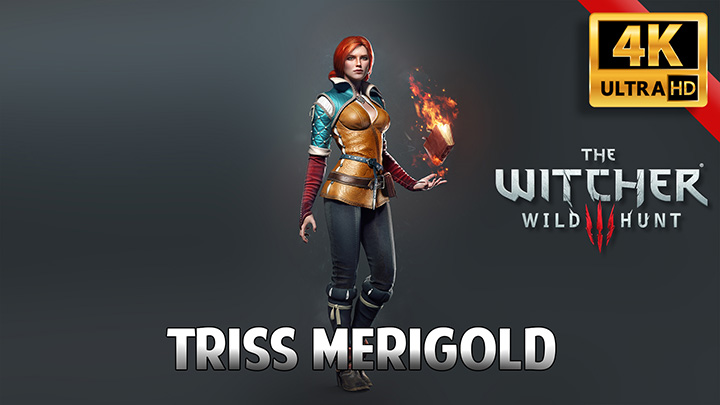 The Witcher 3 Triss Merigold 4k Wallpaper Engine