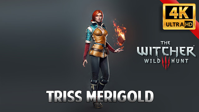 Triss Merigold Wallpaper Engine