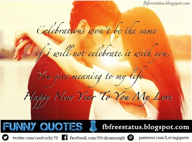 New Year Love Wishes for girlfriend, New Year Love messages for boyfriend