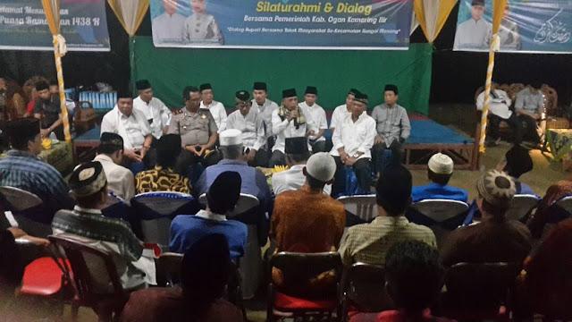 H Iskandar Ajak Kades Gotong Royong Membangun Desa