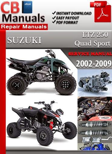 Suzuki ltz250 service manual repair 2004 2009 by joseherrington.