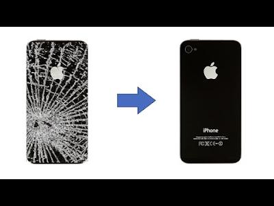 Thay mat kinh sau iPhone 4s