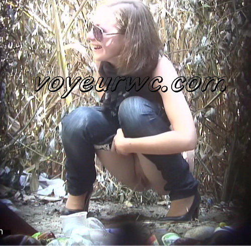 PissHunters 8962-8978 (Outdoor voyeur peeing. Voyeur public toilet spy cam)
