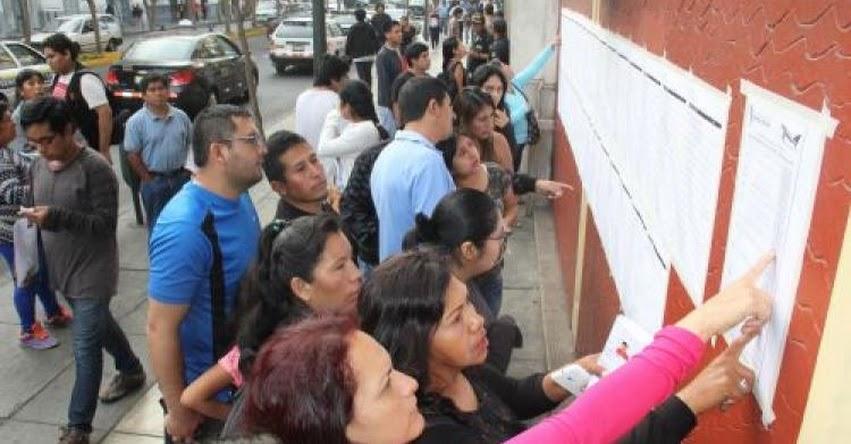 UNFV: 13 mil postulantes rendirán Examen de Admisión a la Universidad Nacional Federico Villarreal [Relación Aulas - Locales] www.unfv.edu.pe
