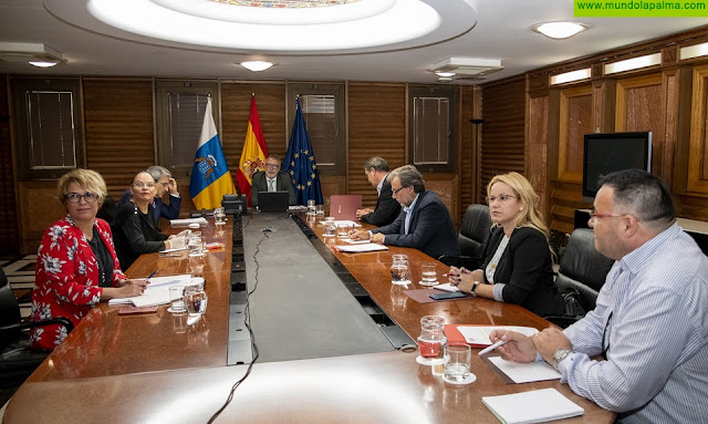 Los agentes económicos y sociales muestran su compromiso de acuerdo en las primeras reuniones en torno al Pacto para la Reactivación de Canarias