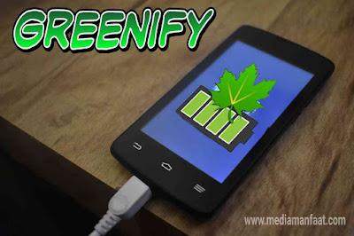 Hemat baterai HP dengan Greenify