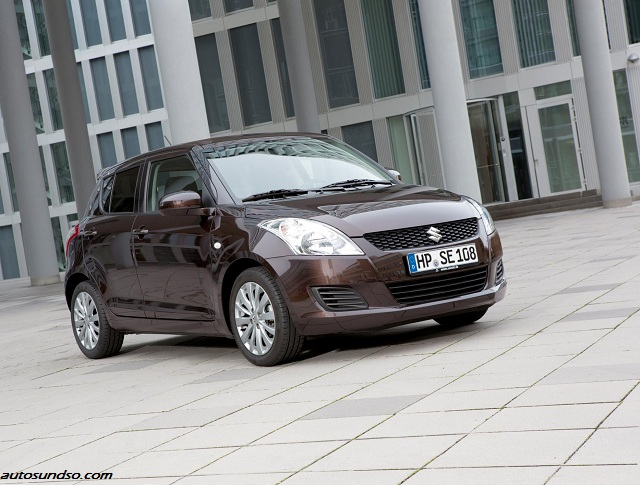 "Sondermodell Suzuki Swift ""X-TRA"" in exklusiver Bison-Brown-Metallic-Lackierung"