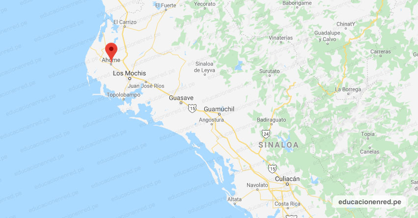 Temblor en México de Magnitud 4.2 (Hoy Domingo 16 Febrero 2020) Sismo - Epicentro - Ahome - Sinaloa - SIN. - SSN - www.ssn.unam.mx