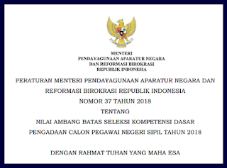 Passing Grade Untuk Honorer K2 Minimal 260