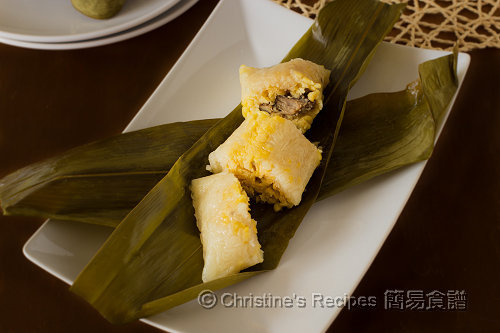 鹹肉粽 Cantonese Rice Dumplings02