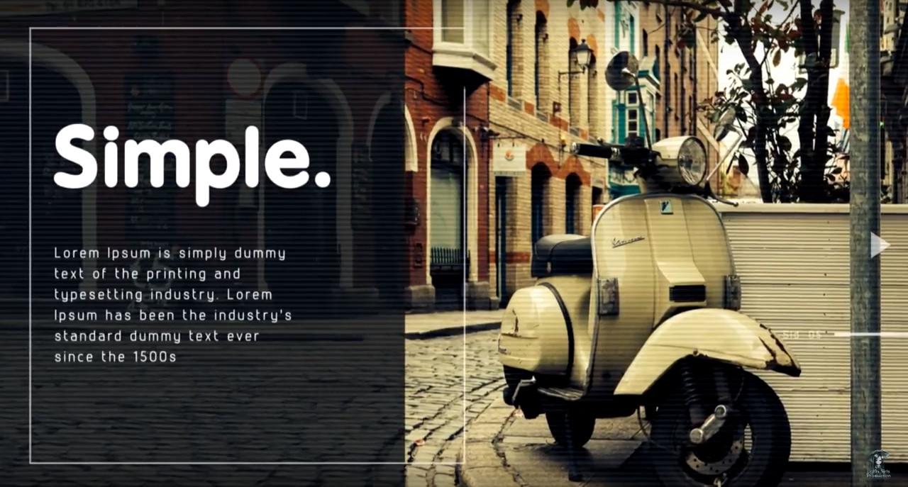 Free Sony Vegas 14 Pro Photo Slideshow Template Modern Promo