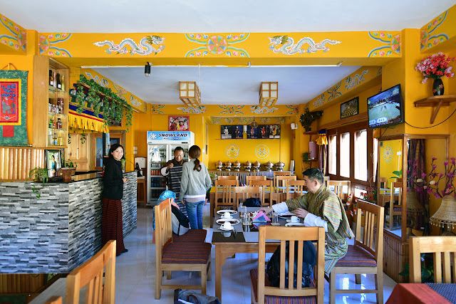 Bhutan restaurant