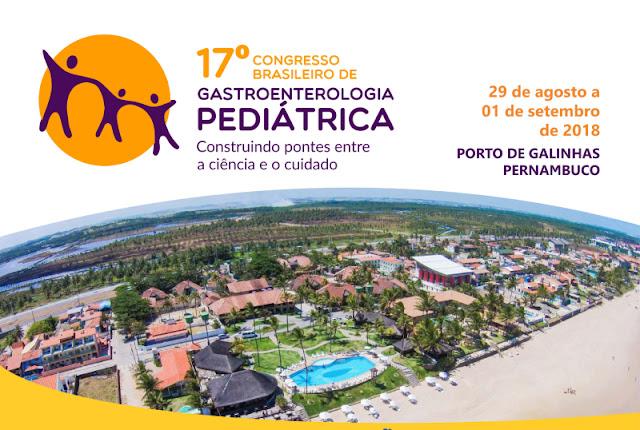 Congresso Brasileiro de Gastropediatria será realizado pela primeira vez em Pernambuco