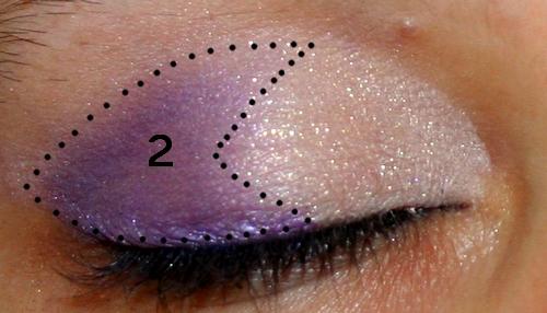 beauty or not beauty tuto photos un make up rapide dans les tons violets. Black Bedroom Furniture Sets. Home Design Ideas