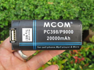 Baterai Hape Prince PC9000 PC398 Antena Merk MCOM 20000mAh