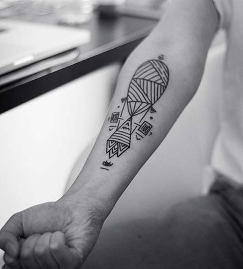geometrik bilek dövmeleri geometric wrist tattoos 11