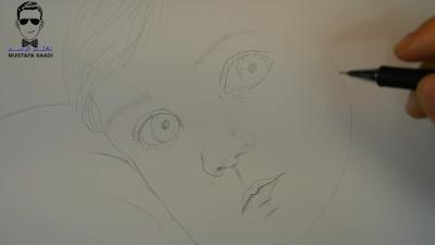 تعليم رسم طفل بالصور خطوة بخطوة