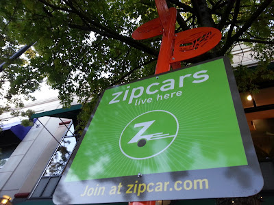 Robert Dyer @ Bethesda Row: ZIPCAR MAKES A SCENE AT ...
