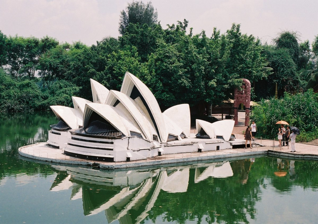 Sydney Opera House - Sydney, Australia - This Epcot-like Chinese Theme Park Is Equal Parts Creepy And Interesting
