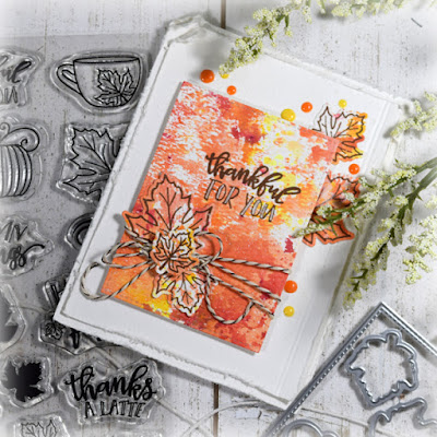 Card by Julee Tilman using Autumn Leaves