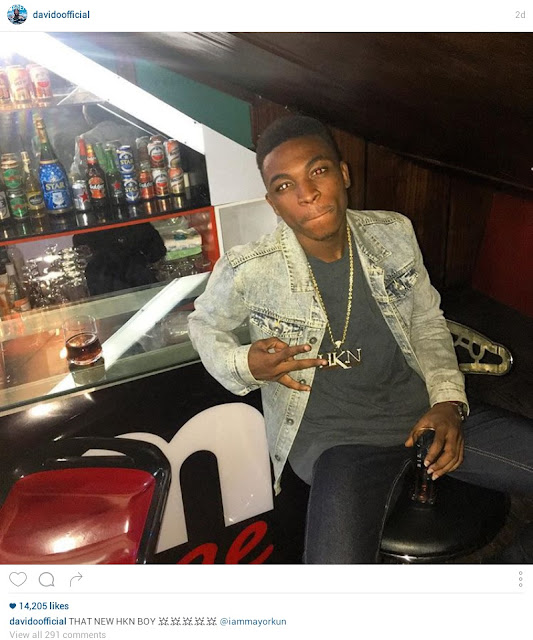Fans Storm Davido's Home Pleading To Get Signed On HKN Label After The Singer Signed New Artist From Instagram
