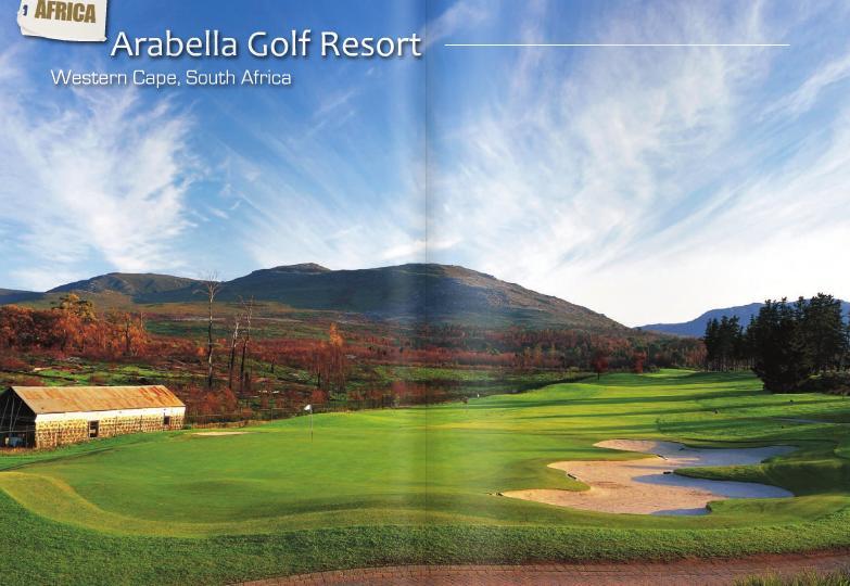 golf course in south africa arabella fancourt links. Black Bedroom Furniture Sets. Home Design Ideas
