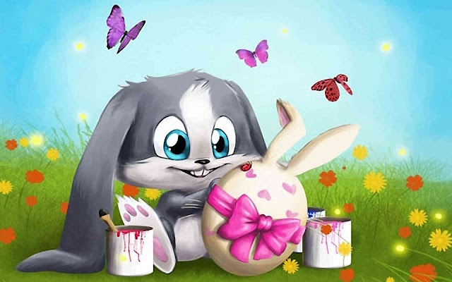 EASTER BUNNY PICS
