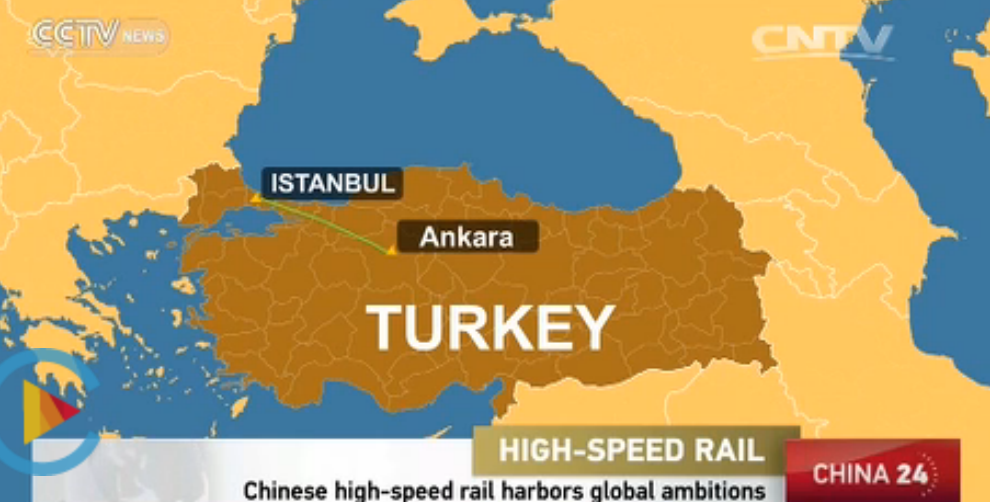 China built high speed rail in Turkey and is building