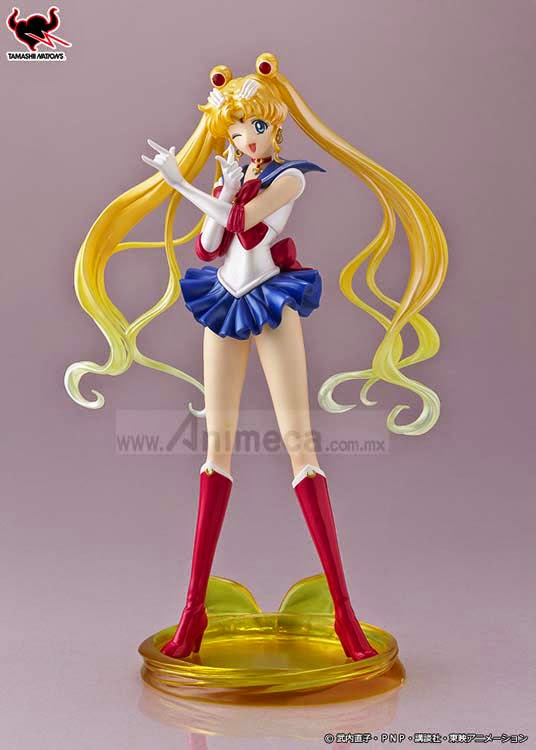 SAILOR MOON Figuarts ZERO FIGURE Bishoujo Senshi Sailor Moon Crystal BANDAI