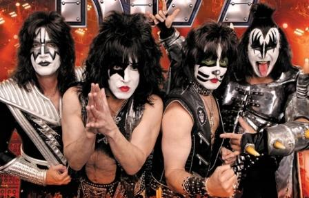 Kiss Band Face Paint
