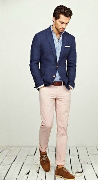 blazer and longsleeve shirt and derby shoes and belt and chinos and pocket square large 1370 - Rise! Dress like a man