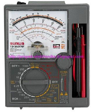 Cara Menggunakan Multimeter (AVO Meter) pada Pengukuran Listrik