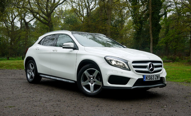 Mercedes-Benz GLA-Class 200 CDI AMG Line front view