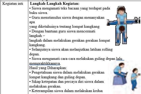 RPP PJOK Kelas 5 SD Semester 2 Kurikulum 2013 Revisi