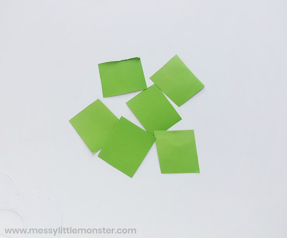 St patricks day shamrock craft