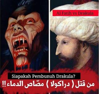 Akhir Hidup Sang Drakula di tangan Pasukan Turki yang pimpinan Sultan Muhammad Al Fatih