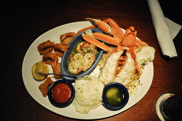 Ultimate Feast at the Red Lobster, Times Square, New York City