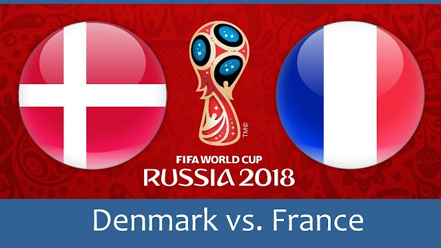 Denmark vs France Full Match Replay 26 June 2018