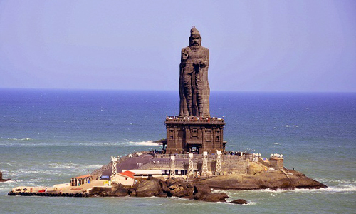 Tourist Places - Thiruvalluvar Statue - travelmaniak.info