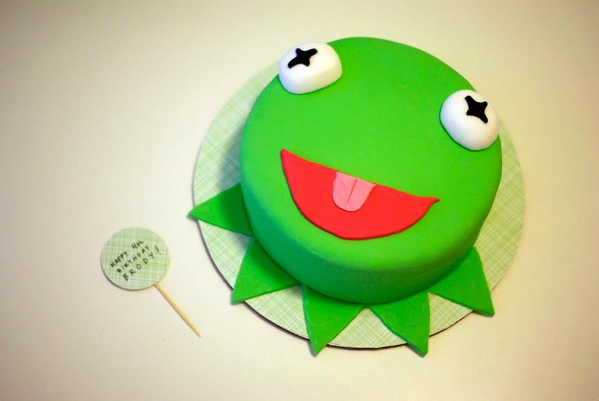 Coco Cake Land Cakes Cupcakes Vancouver Bc Kermit Cake