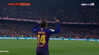 اهداف مباراة الكلاسيكو برشلونة و ريال مدريد  1-1 كاس ملك اسبانيا 06-02-2019