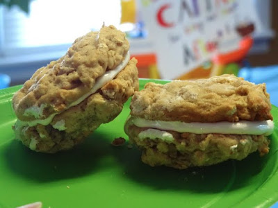 homemade oatmeal creme pie cookies