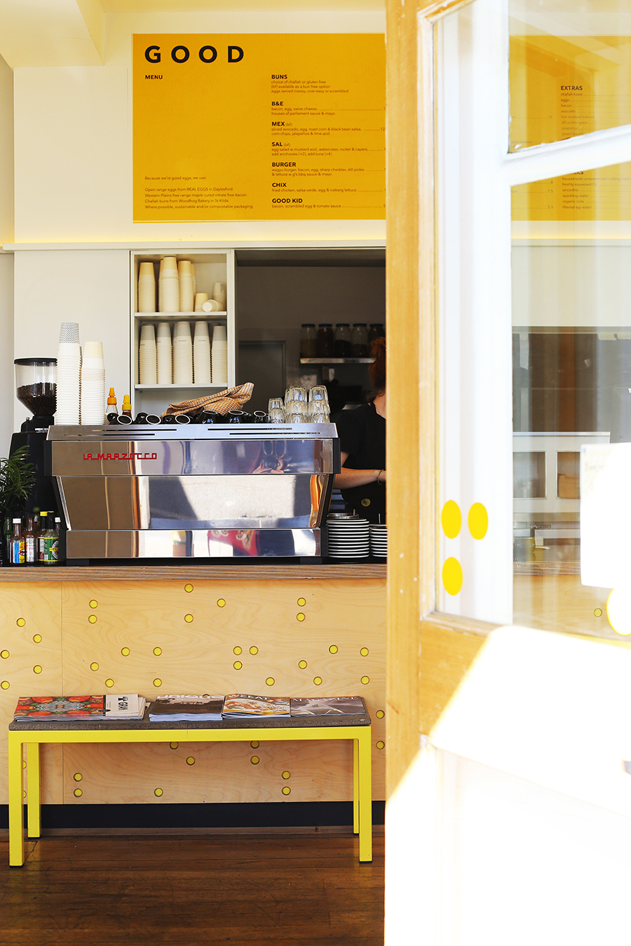 Melbourne, Australia: 11 Restaurants, Bars, & Cafes to Try  Hash Specialty Coffee & Roasters, Market Lane Coffee, Chez Dre, Bibelot, Good Egg, Il Fornaio, Matcha Mylkbar, Lui Bar, The Waiting Room, Rockpool Bar & Grill, Dinner by Heston Blumenthal