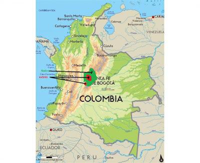 Bogota Rail map