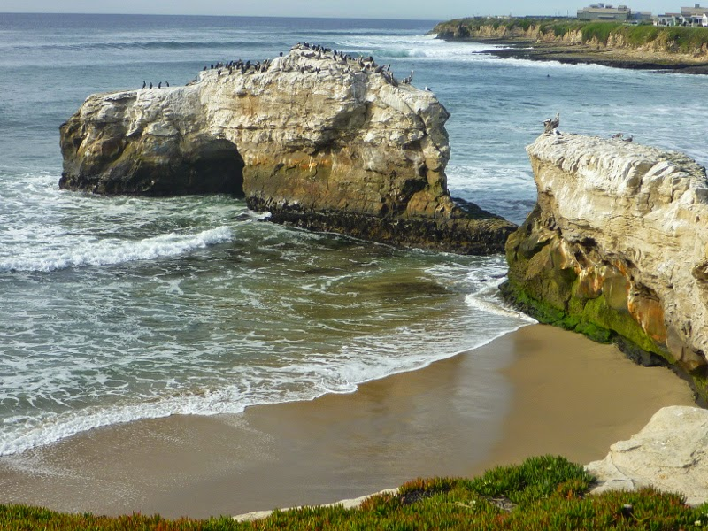Natural Bridges With Tunnel And Missing Arch