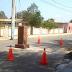 Cartavio: Construyen pedestal en medio de la pista