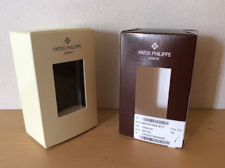 Used - Vintage Caja Box PATEK PHILIPPE 12 x 7,5 x 5 cm - Item For Collectors