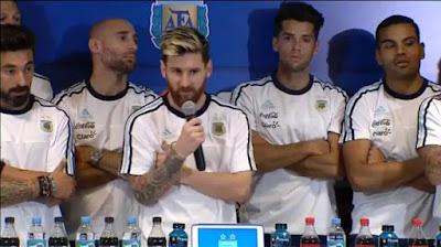 Messi veto prensa