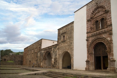 The Museum of the Old Franciscan Convent of Santa Ana in Tzintzuntzan, Michoacan